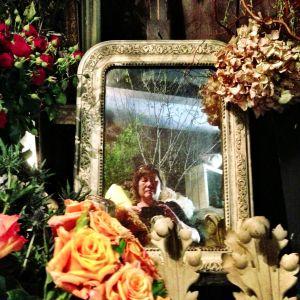 Selfie at Georges Francois in Paris.
